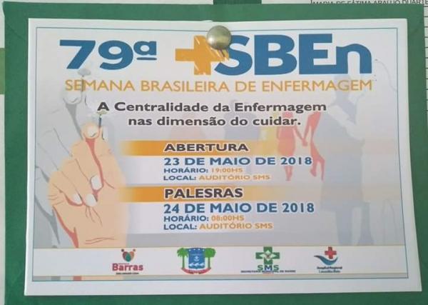 Hospital Leônidas Melo em Barras PI comemora Semana da Enfermagem