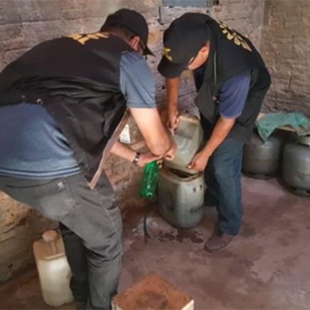 Fiscalização encontra gasolina adulterada em cidade do Piauí