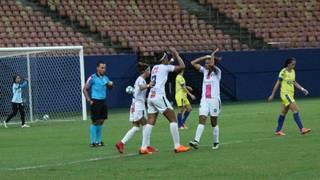 Tiradentes é goleado por 6 a 1 em Manaus AM