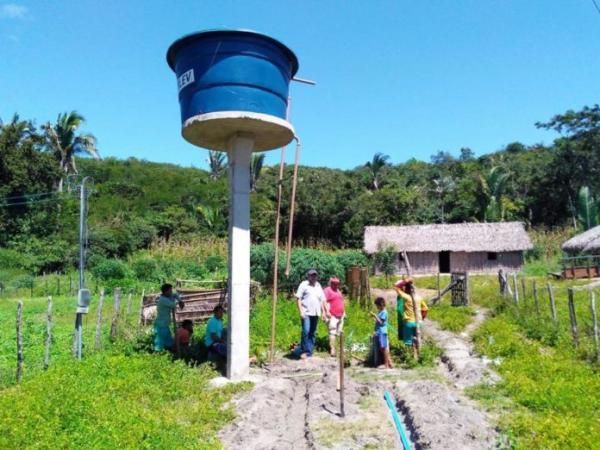 Governo municipal beneficia famílias na zona rural com água de qualidade