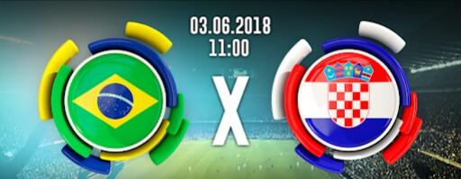 Brasil vence a Croácia por 2 a 0