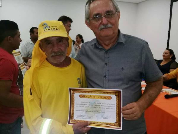 Governo de Barras e Senac Barras na semana do encerramento da Semana do Meio Ambiente