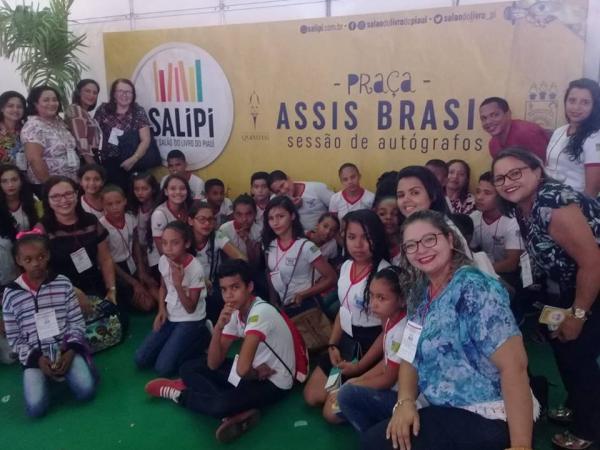 Alunos da rede municipal de Barras PI participam do Salipi 2018