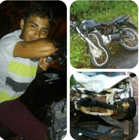 Acidente de moto na BR 222 tira vida de jovem