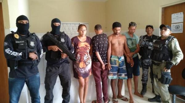 Polícia militar prende quadrilha suspeita de tráfico