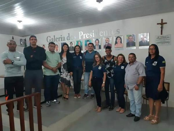 Fábio Abreu participou do lançamento do Mirim cidadão em Ilha Grande