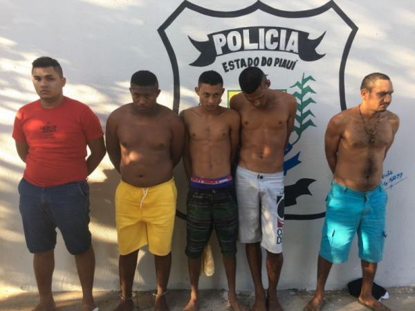 Operação Codipi Seguro resulta em cinco presos na zona norte