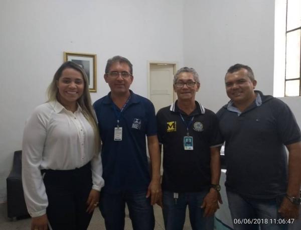 Fiscais do INMETRO fiscalizam Hospital Regional Leônidas Melo