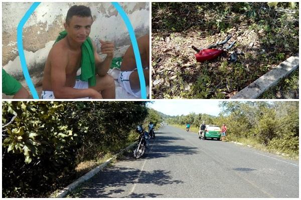 Jovem morre após colisão frontal entre motocicletas na PI-112
