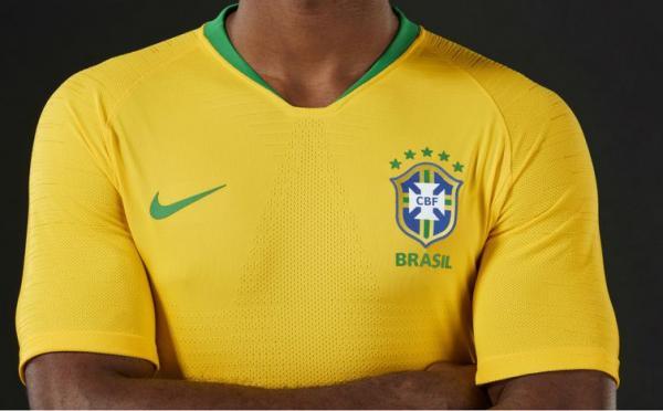 Brasil define uniforme para estreia na Copa da Rússia