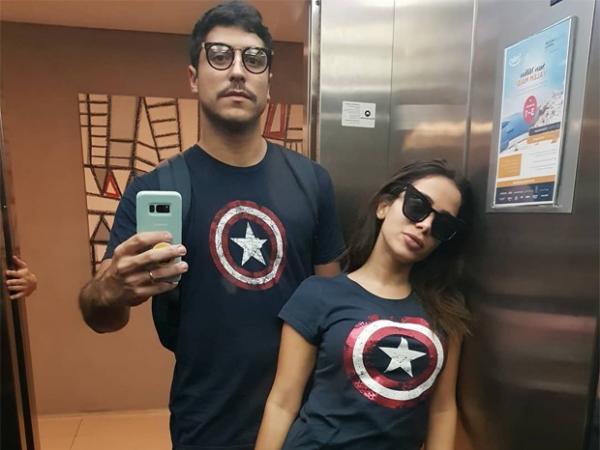Entre rumores de separação, Anitta posta foto com o marido