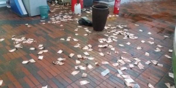 Bando explode caixa eletrônico na Câmara Municipal de Teresina