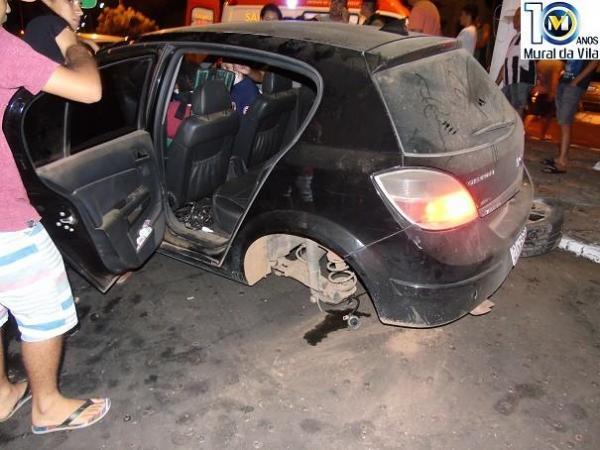 Colisão entre veículos deixa ferido ex-prefeito de Colônia do Piauí