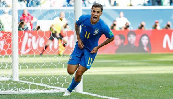 Brasil vence por 2 a 0 a Costa Rica