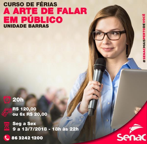 Oportunidade de desenvolver talentos, SENAC