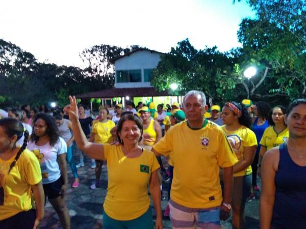 Academia de Saúde promove passeio ciclístico em Barras PI