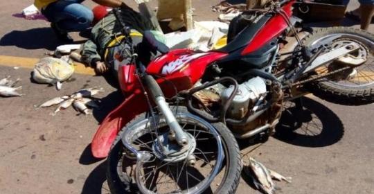 Vendedor de peixe morre em acidente de moto no Piauí