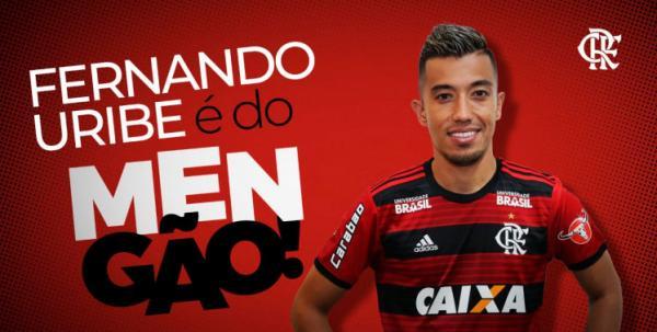 Flamengo contrata Uribe e gastará R$ 26 milhões com atacante colombiano