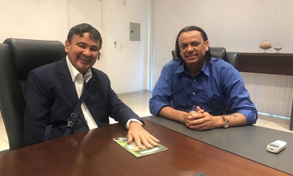 Wellington Dias se reúne com Frank Aguiar