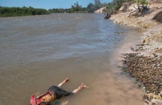 Corpo é encontrado em estado de decomposição dentro de rio no Piauí