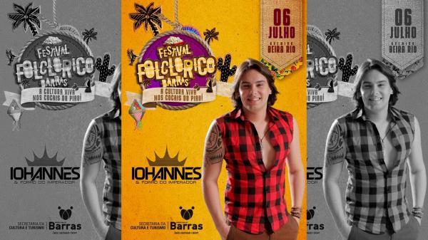 Começa hoje (6) o Festival Folclórico de Barras