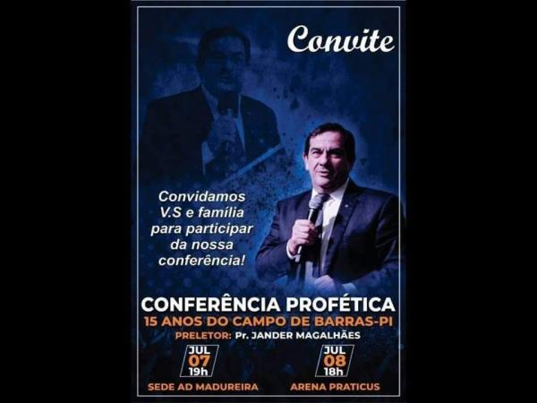 Igreja Evangélica Assembléia de Deus Madureira realiza I Conferência Profética 15 anos do campo