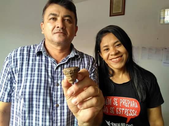 Encontrado fóssil de cachimbo de barro utilizado por povos primitivos na região de Barras PI