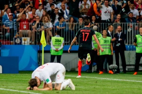 Croácia vira na prorrogação contra a Inglaterra e fará final inédita na Copa