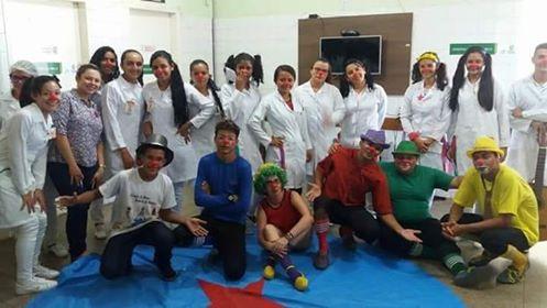 Hospital Leônidas Melo recebeu o elenco da Cia de teatro para apresentações