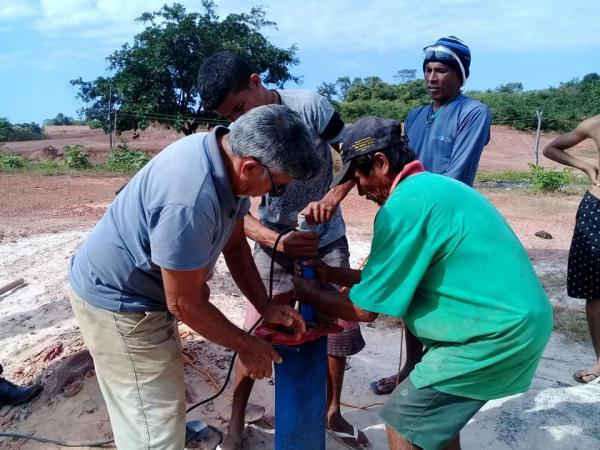 Água de qualidade para Zona urbana Bairro Exu e São Cristóvão em Barras PI