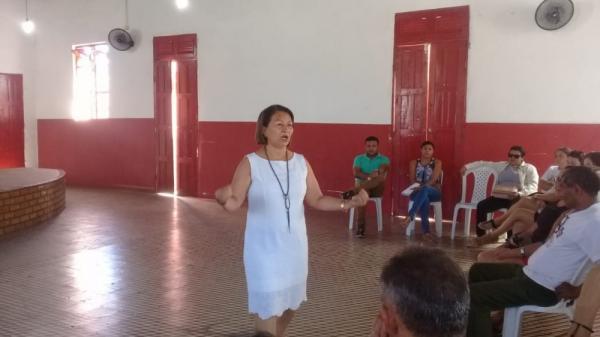 Secretarias e agentes de saúde desenvolvem projeto pra diminuir evasão escolar em Barras