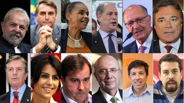 Começam amanhã convenções para escolha dos candidatos a presidente