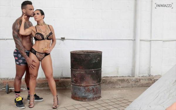 Scheila Carvalho e Tonny Sales gravam vídeo intímo