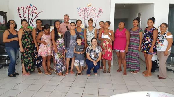 SEMAS e CRAS realizam oficinas do projeto Costurando Amor