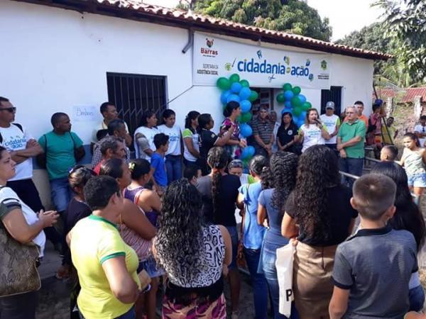 Governo de Barras PI realizou a V edição do Cidadania e Ação na localidade Jardim II