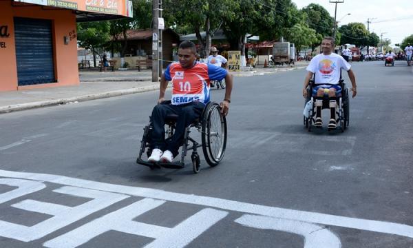 12ª Maratona dos Deficientes decidem final neste dia 16/08 aniversário de 166 anos da Capital Teresina