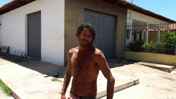 """Vítima, Domingos Lopes Neres, o """"Maléo"""" (Foto: Reprodução)"""