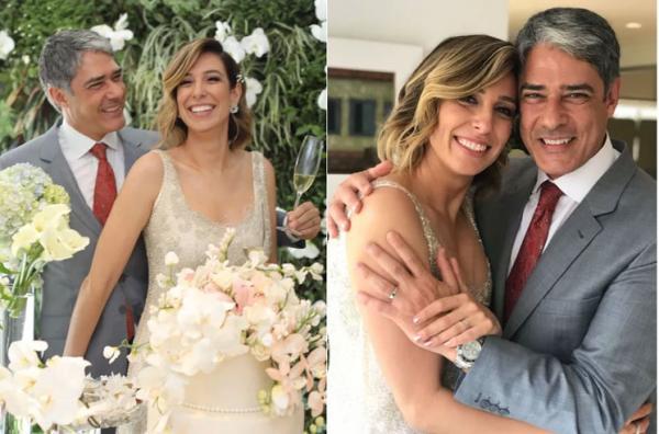 William Bonner e Natasha Dantas se casam