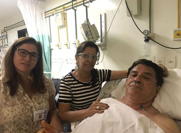 Ex-deputado Ismar Marques passa mal e é internado em hospital de Teresina