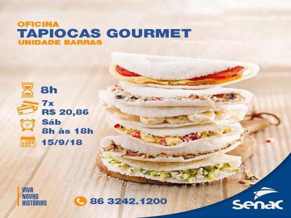Curso de Tapiocas Gourmet é no Senac Barras-PI