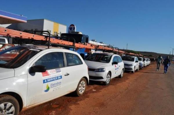 Eletrobras realiza operação de corte em Teresina e mais 3 cidades do Norte do PI