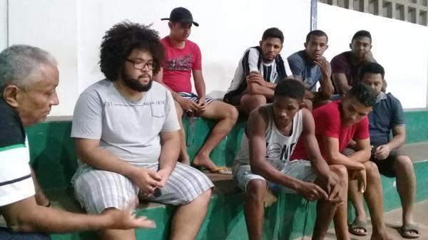 Time de Barras através da Secretaria de Esporte vai disputar o Campeonato Inter-Estadual 2018