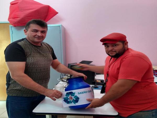 Semar em Barras realiza o Projeto de Sustentabilidade Sabão que Limpa
