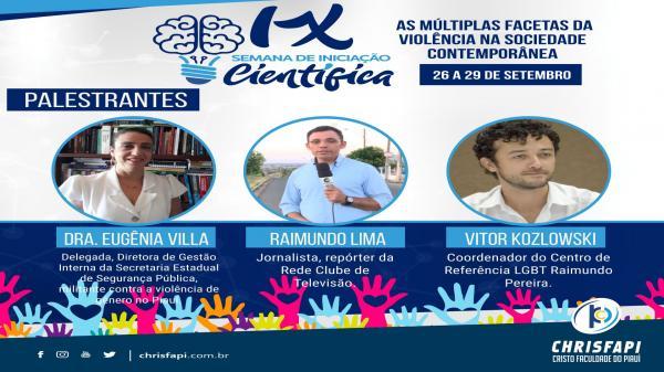 Chrisfapi inicia IX Semana Científica 2018