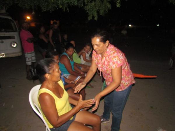 Candidata a deputada estadual Emília faz reuniões no interior de Barras e Cabeceiras do Piauí