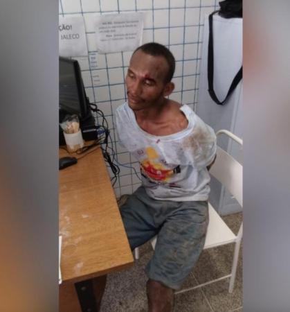 Homem é preso acusado de agredir a própria esposa na zona Norte