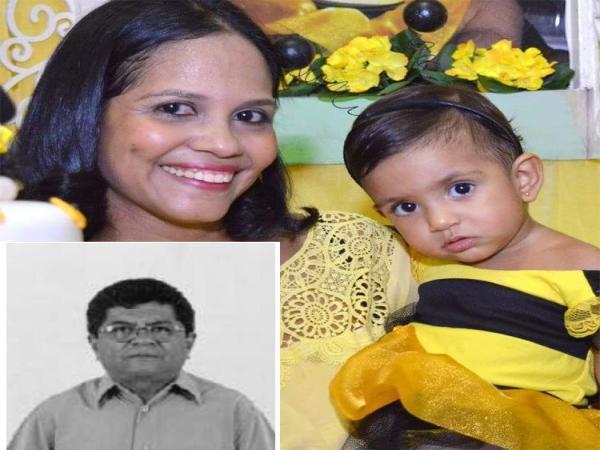 Mortos carbonizados em acidente na BR-316 eram pai, filha e neta de 2 anos