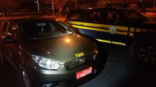 Em Teresina, PRF apreende R$ 100 mil e suspeito