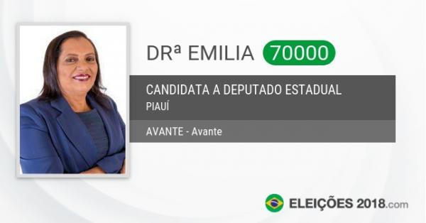 Candidata do Avante vereadora Emília tem votação expressiva em Barras PI