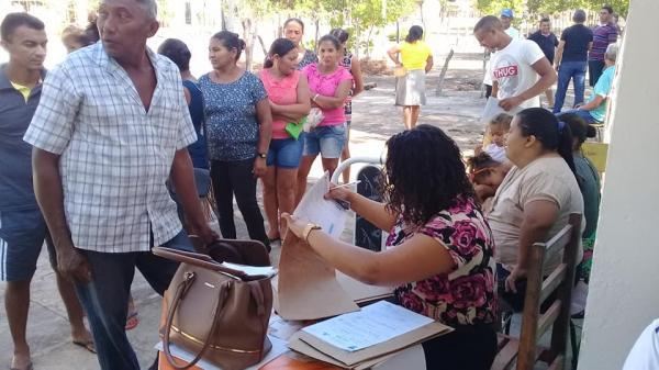 Localidade Lagoa Preta em Barras PI recebe ponto de apoio para atendimento de Saúde
